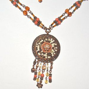 Jewelry - Copper Dream Catcher Necklace